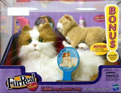 Furreal Friends Lulu My Cuddlin Kitty Cat With