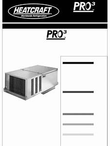 Heatcraft Refrigeration Products Refrigerator 25001501