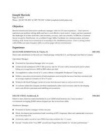 Warehouse Coordinator Resume by Doc 12751650 Cover Letter Resume For Manufacturing Resume For A Bizdoska