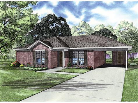 bolesta traditional ranch home plan   house plans