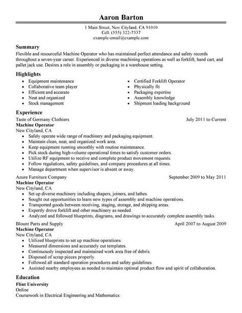 Manufacturing Resume by Manufacturing My Board Resume Exles Resume Skills