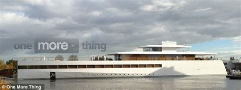 Yacht Love By Chance by Steve Jobs Yacht Revealed 260 Foot Ship Finished Year