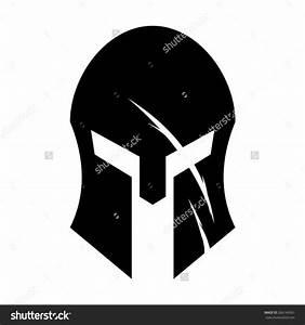 stock vector spartan helmet 266144561jpg 1500x1600 With spartan mask template