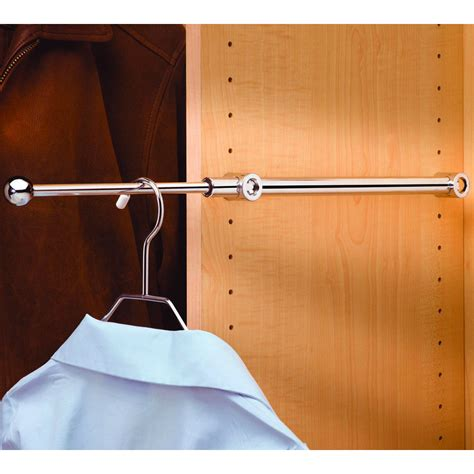 Clothes Rod For Closet by Extending Clothes Rod 14 Inch In Closet Valets
