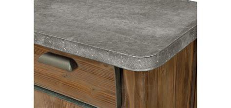 meuble cuisine bois et zinc meuble cuisine bois et zinc table cuisine plateau zinc 26