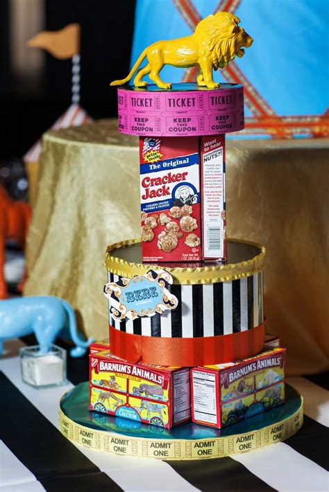 carnival party ideas circus party ideas  birthday   box