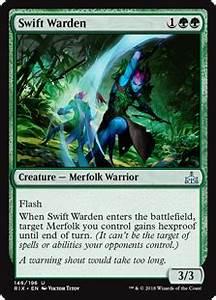 Target Market Swift Warden Creature Cards Mtg Salvation