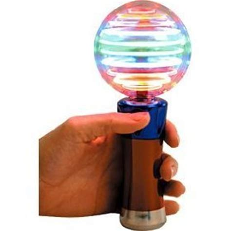 meteor globe led whirling spinning light up