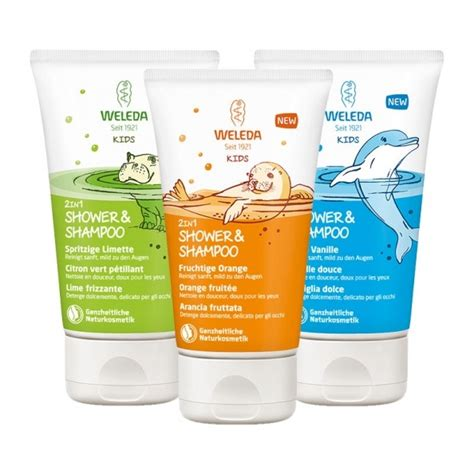weleda kids  showershampoo mix kinderduschgel