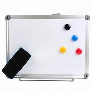 Hobbycraft Magnetic Aluminium White Board 30 Cm X 40 Cm