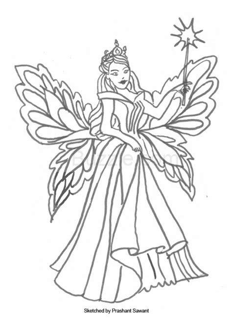 Get This Fairy Coloring Pages Free Printable 69961