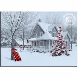Country Christmas Winter Scenes