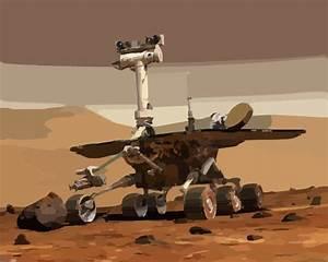 Mars Rover Explores The Red Planet Clip Art at Clker.com ...