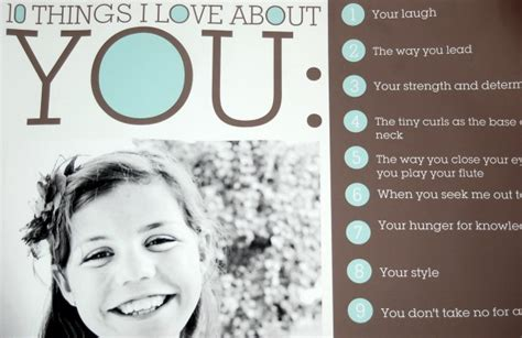 Ten Things I Love About You {freebie}  Kristen Welch