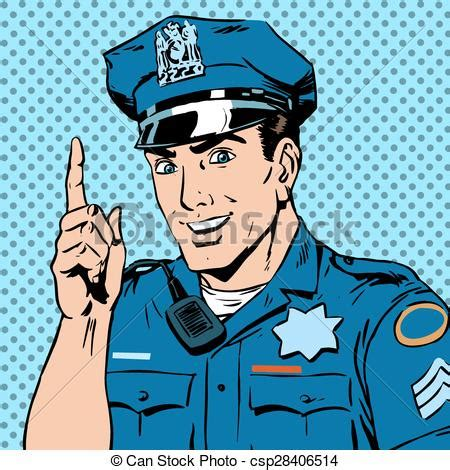 drawing clipart police officer pencil   color