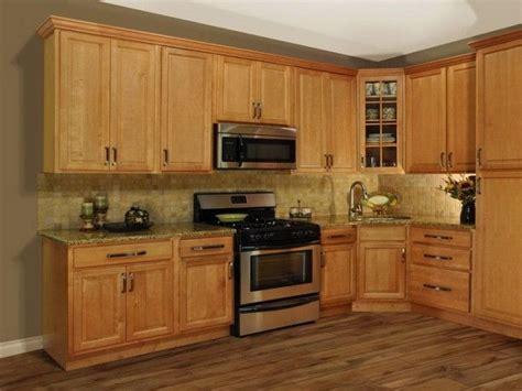 kitchen paint colors  oak cabinets honey oak