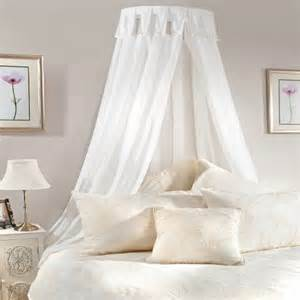 bed canopy rail curtains not included net curtain 2 curtains