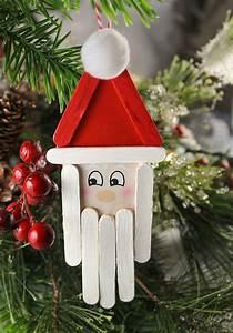 10, Easy, Diy, Santa, Crafts, U0026, Ornament, Ideas, For, Christmas