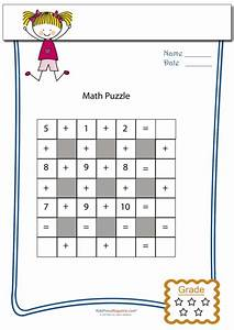 Addition Math Puzzle  6