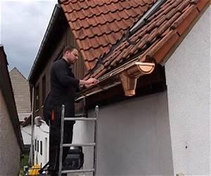 Dachrinne Ablaufrohr Montieren : kupferdachrinne dachrinne montieren ~ Whattoseeinmadrid.com Haus und Dekorationen