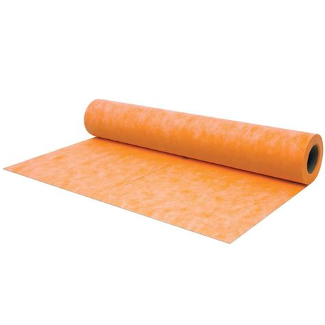 schluter kerdi 3 ft 3 in x 33 ft waterproofing membrane
