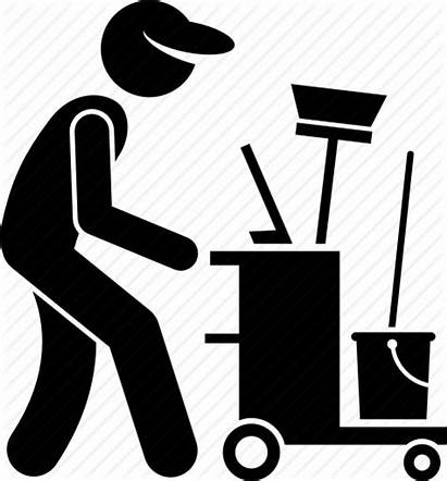 Cleaning Icon Janitor Cleaner Clipart Industrial Icons