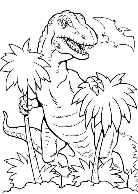 dinossauro rex desenhos  colorir