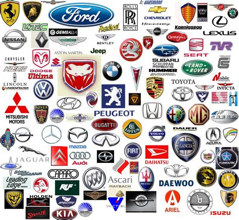 Cars With Logo by Car Company Logos Logo Brands For Free Hd 3d