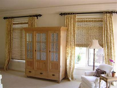 Bamboo Bedroom Curtain Privacy Shades Window Coverings