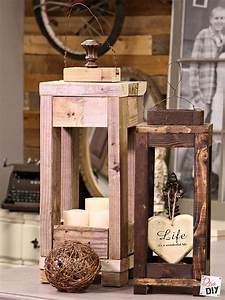 Easy, Outdoor, Decor, How, To, Make, Lanterns, From, Scrap, Wood