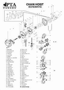 Premium Tool  U0026 Abrasives Chain Hoist Parts List And