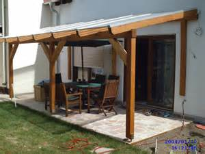 Glued Laminated Timber Decking Canopy 3 Garden House Porch Roof Construction Ideas