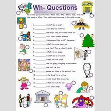 Whquestions Worksheet  Free Esl Printable Worksheets Made By Teachers