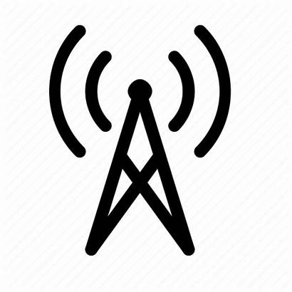 Cell Tower Icon Cellular Signal Network Wireless
