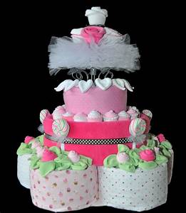 Diaper Cake Pattern Pdf  U2013 Round Topsy Turvy Design  U0026 Video