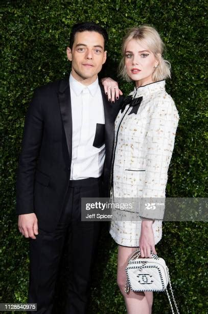 Rami Malek And Lucy Boynton Photos and Premium High Res ...