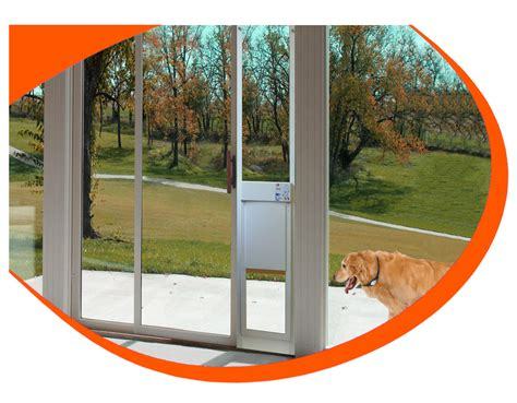 doggie door for patio door canada fully automatic pet doors adapted for sliding glass doors