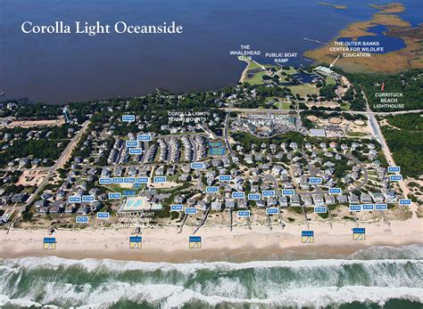Corolla Light Resort by Corolla Light Maps Twiddy