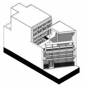 Le Corbusier Werke : house curutchet 3d rvt model for revit designs cad ~ A.2002-acura-tl-radio.info Haus und Dekorationen