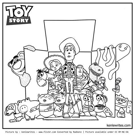 radkenz artworks gallery toy story