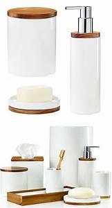 Accessoires De Salle De Bain : accessoires salle de bain bois maison design ~ Dailycaller-alerts.com Idées de Décoration
