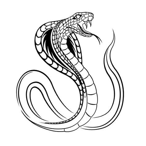 Cobra Slang Kleurplaat by Leuk Voor Slangen 0004