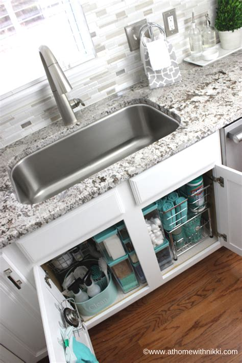 organize kitchen sink how to organize the kitchen sink at home with 1248