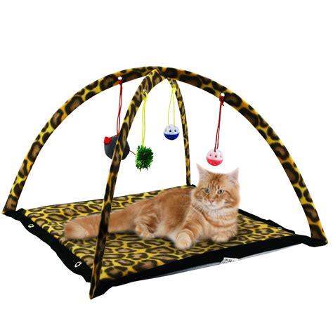 tappeto da gioco tappeto da gioco per gatti cuccia richiudibile con giochi