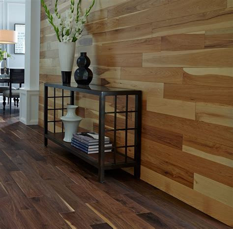 hardwood flooring on the wall adding character with accent walls 2015 fall flooring trends