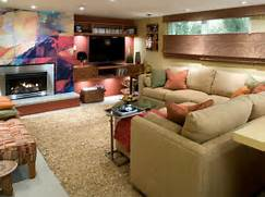 Basement Renovation by After Finished Basement Remodeling Ideas