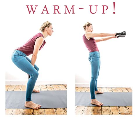 kettlebell yoga excercises warmup poses standing
