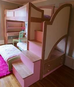Kinderzimmer Für Zwei Mädchen : 36 super modelle vom hochbett f r m dchen ~ Sanjose-hotels-ca.com Haus und Dekorationen