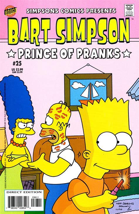 Bart Simpson Comics 25 Simpsons Wiki Fandom Powered By