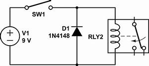 Bi-directional Flyback Diode For Relay Spike Protection